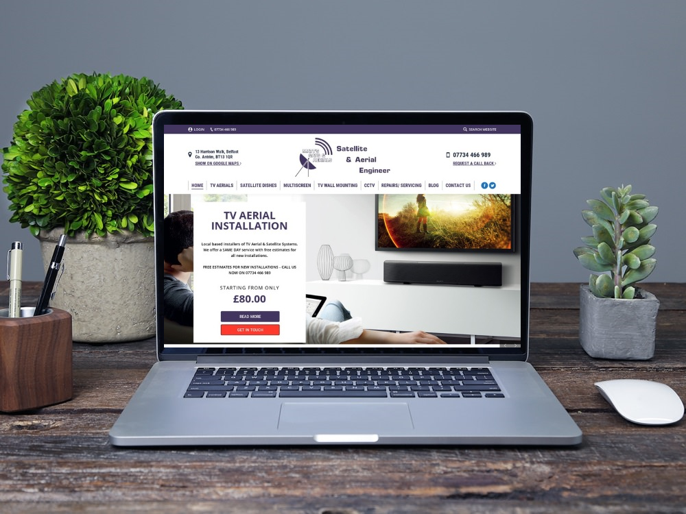 Blinc NI - Web Design Belfast