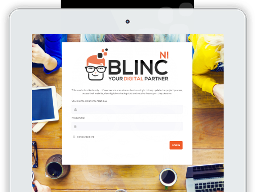 Blinc NI - Web Design Belfast